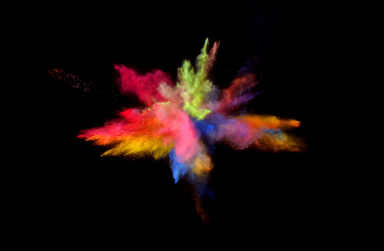 Multi Color Blast | AI & Big Data Expo - Conference and